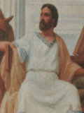 An illustration of the Roman physician Claudius Galen