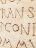 A Latin inscription