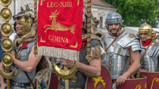 Soldiers of a Roman Imperial legion