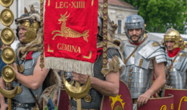 Roman Imperial legion soldiers