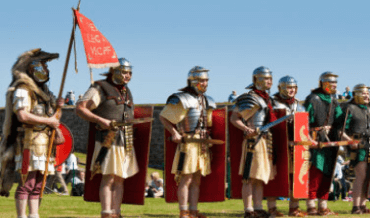 Roman Republican legion soldiers