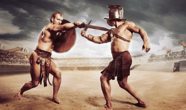 Gladiator games in Ancient Rome