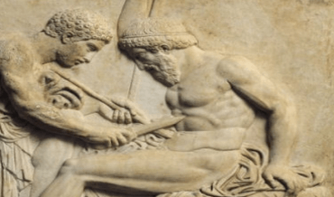 Performing surgery in Ancient Rome