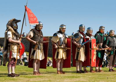 Legionary soldiers of the Roman Republic