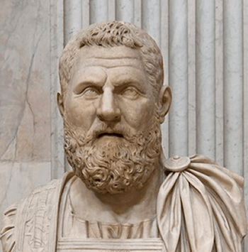 The Roman Emperor Pertinax