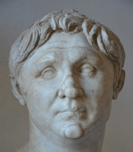 A bust of prominent Roman Pompey the Great
