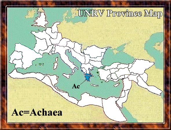 Map of Achaea