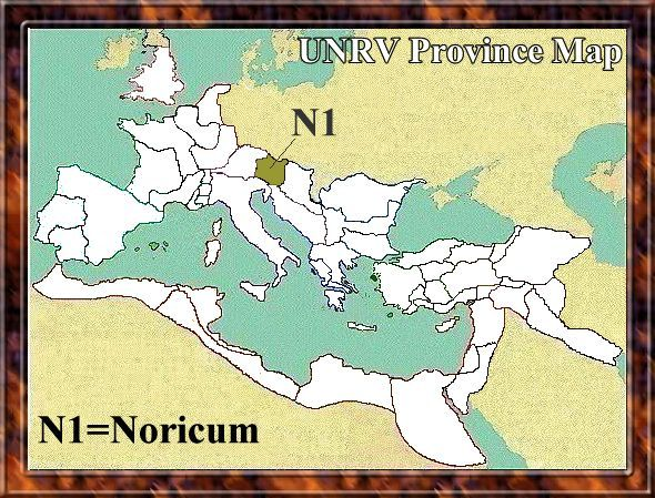 Map of Noricum