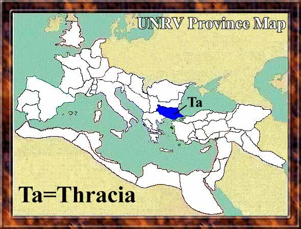 Map of Thrace