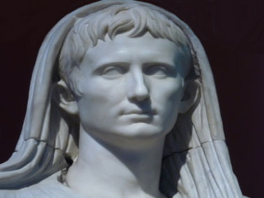 Emperor Augustus as the Pontifex Maximus