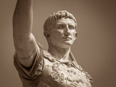 Many Roman emperors such as Augustus were deified and made gods